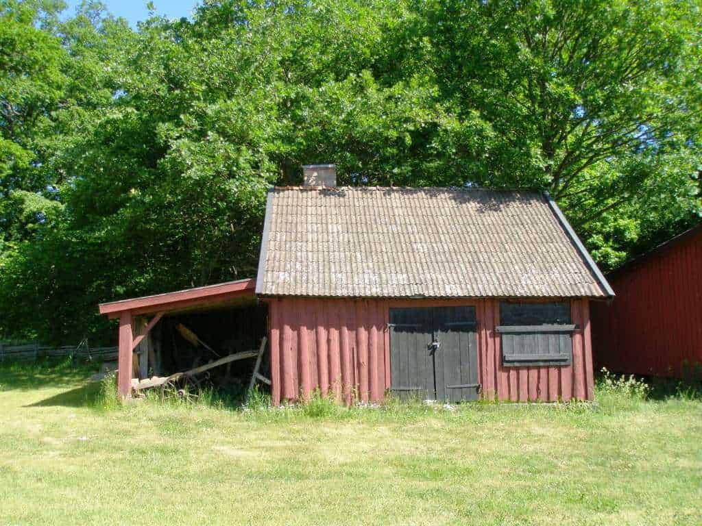Gårdssmedjan vid Mönsterås hembygdsgård