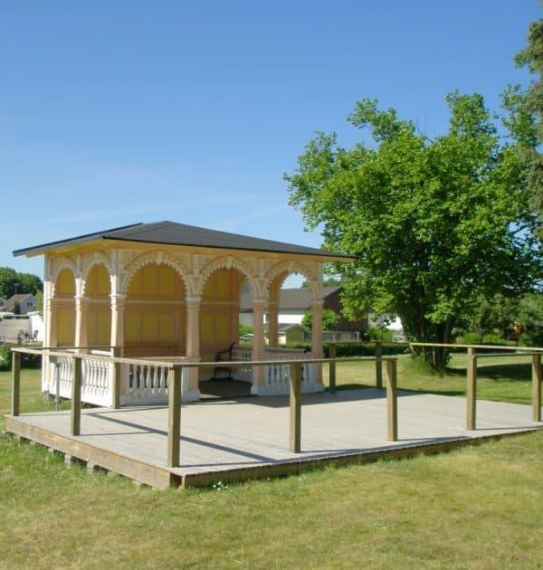 Parkpaviljongen vid Mönsterås hembygdsförening