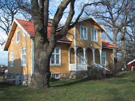 Läkarvillan vid Mönsterås hembygdsförening i Mönsterås