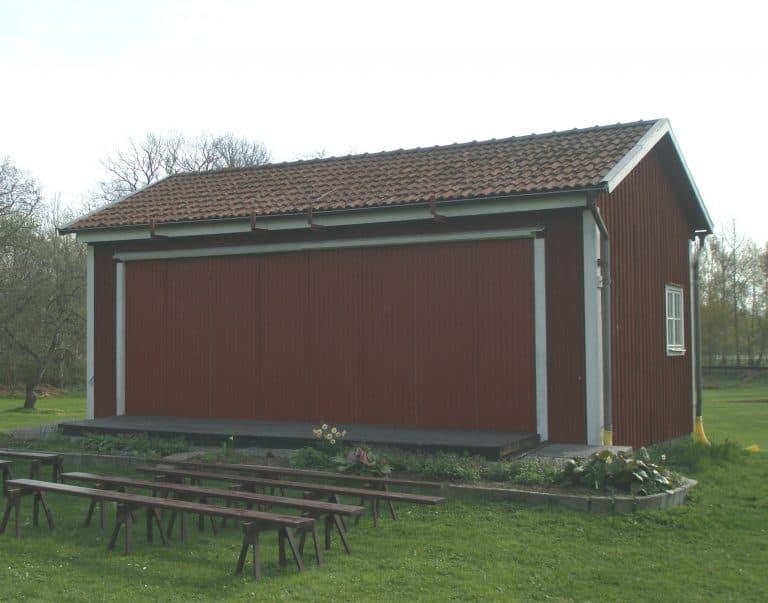 Scenen vid Mönsterås hembygdsförening i Mönsterås