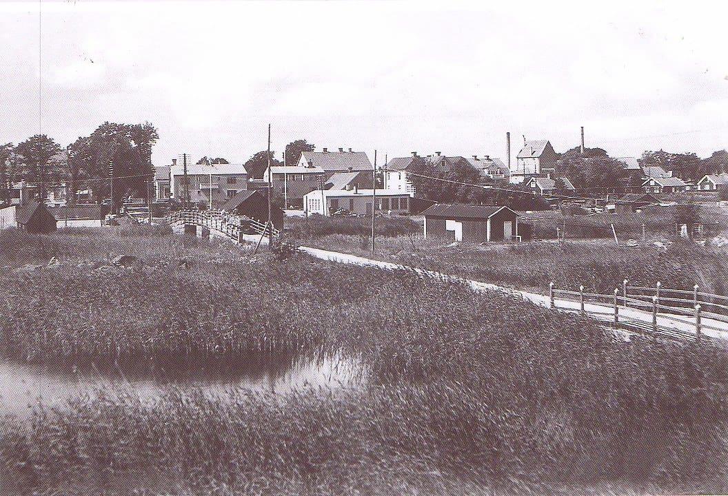 Broarna över Lillåns utlopp i Mönsterås kommun