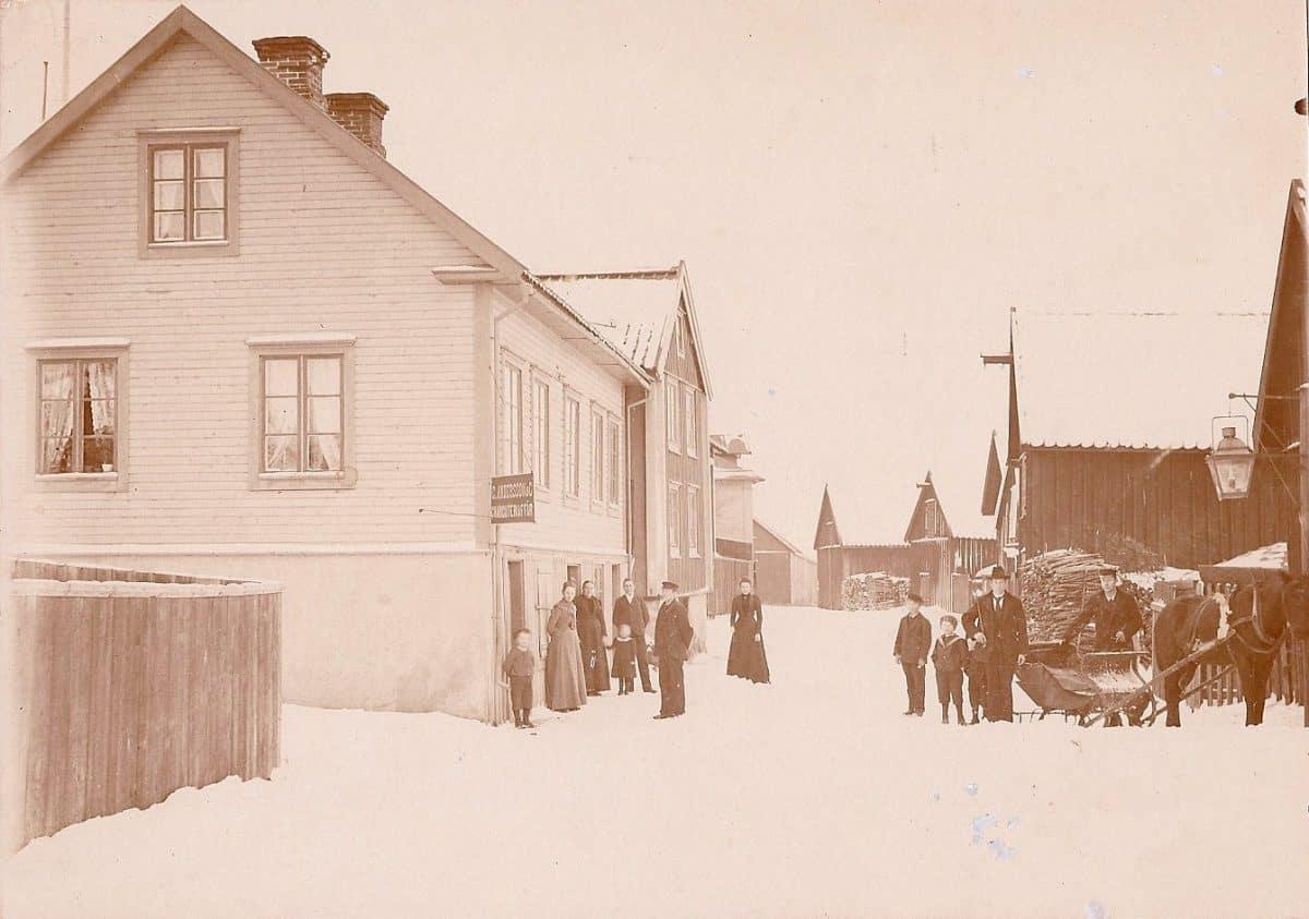 Sjögatan i Mönsterås