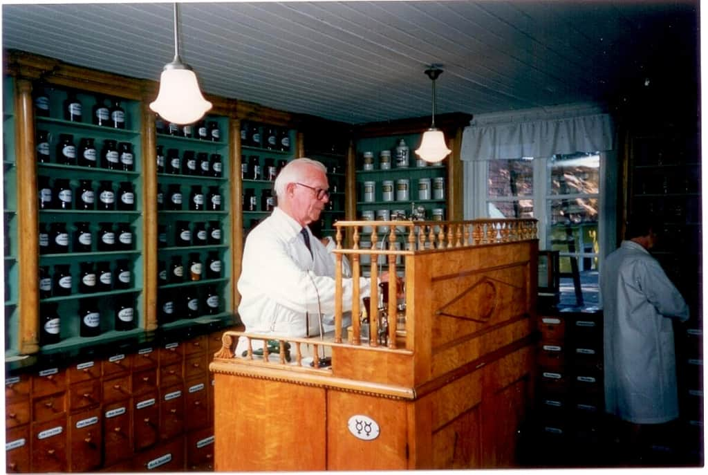 Stig Ekström i apotket